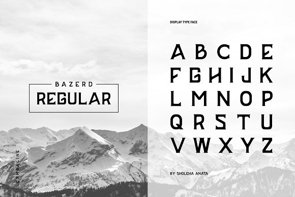 BAZERD - Typeface
