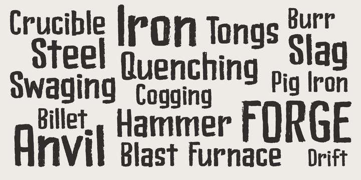 Bladesmith Font Family