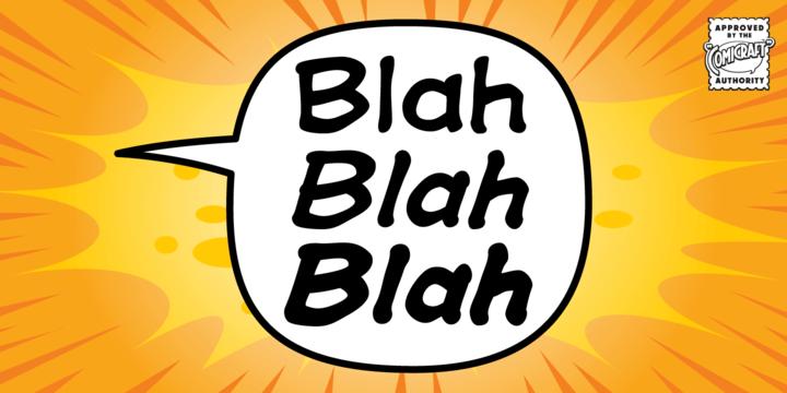 Blah Blah Blah Font Family - iFonts xyz