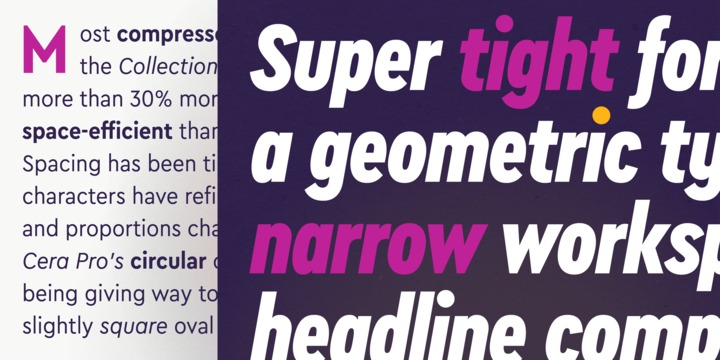 Cera Condensed & Compact Pro Font Family - iFonts xyz
