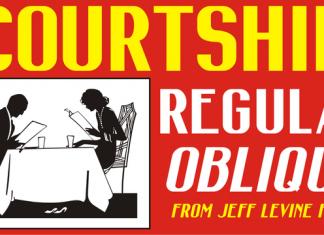Courtship JNL Font