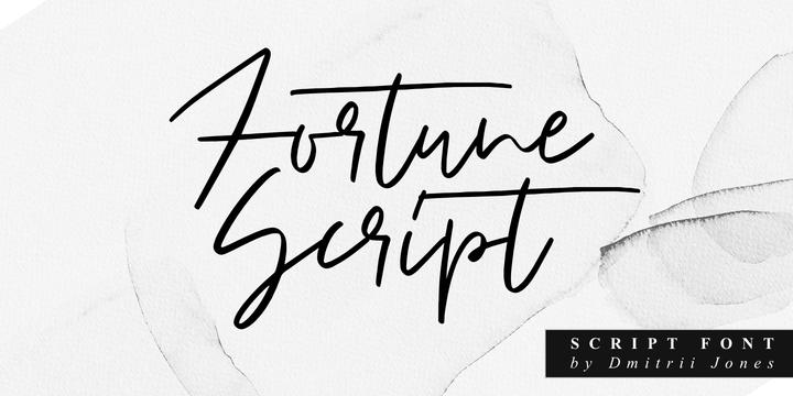Fortune Script Family