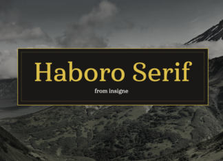 Haboro Serif Font Family