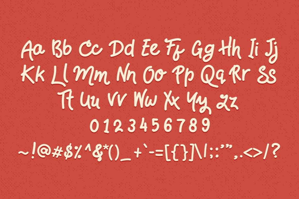 HandsDown  Font