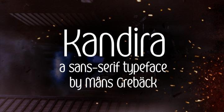 Kandira Font Family