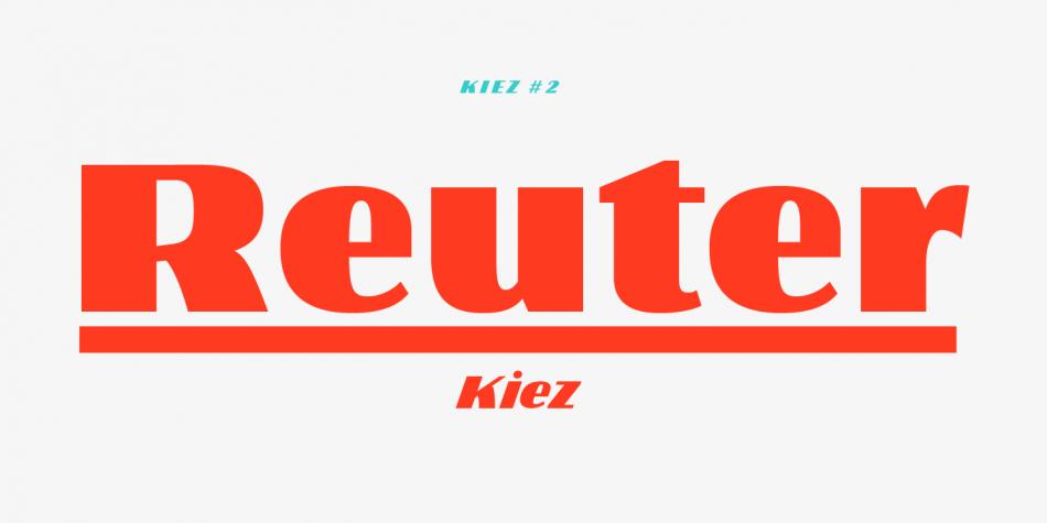 Kiez Font Family