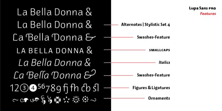 Lupa Sans Pro Font Family