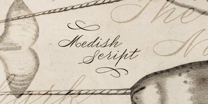 Medish Script Font