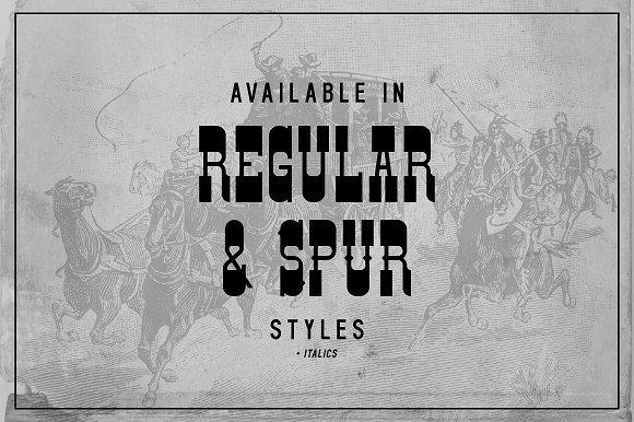 NEW! Gunslinger Typeface