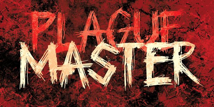 Plague Master Font Family