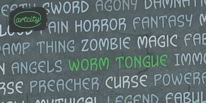 Wormtongue Font Family