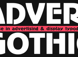 AdverGothic Font Family