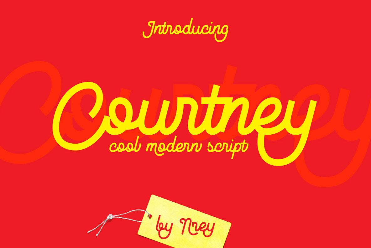 Courtney Script Font