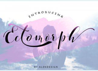 Ectomorph Script Font