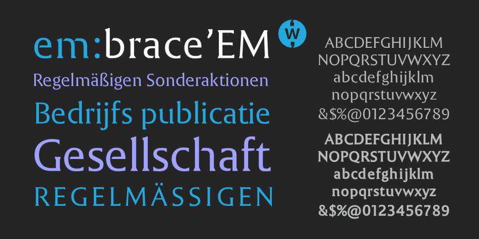 EM Font Family