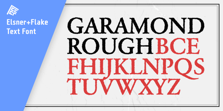 Garamond Rough Pro Family