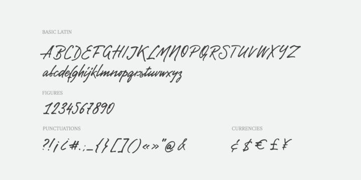 Gentlemens Script Font