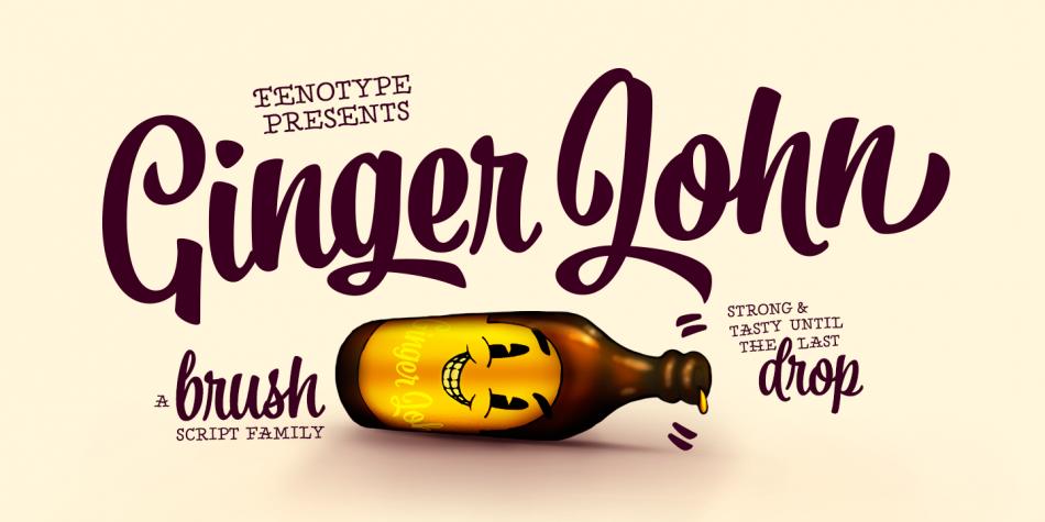 Ginger John Font Family