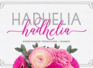 Hadhelia Script Font