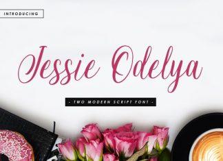 Jessie Odelya Script Font