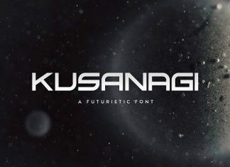 Kusanagi Typeface