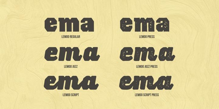 Lemoo Font Family