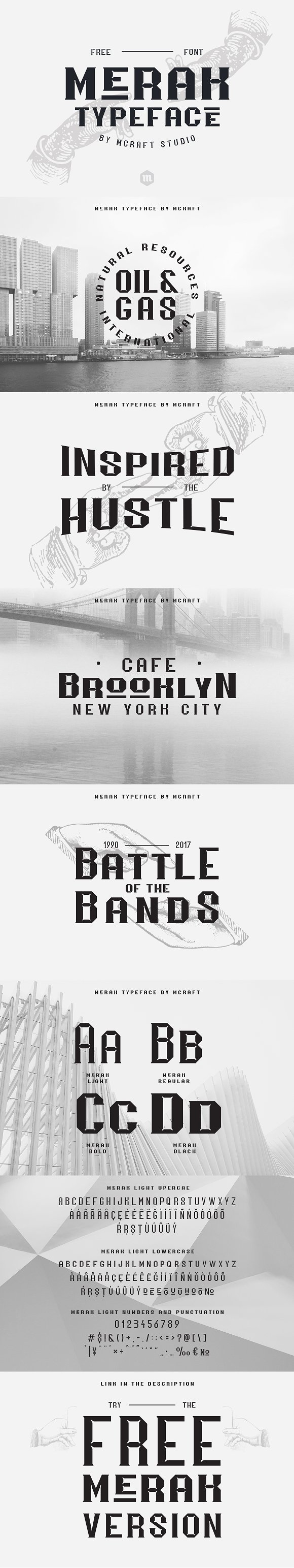 Merak Typeface