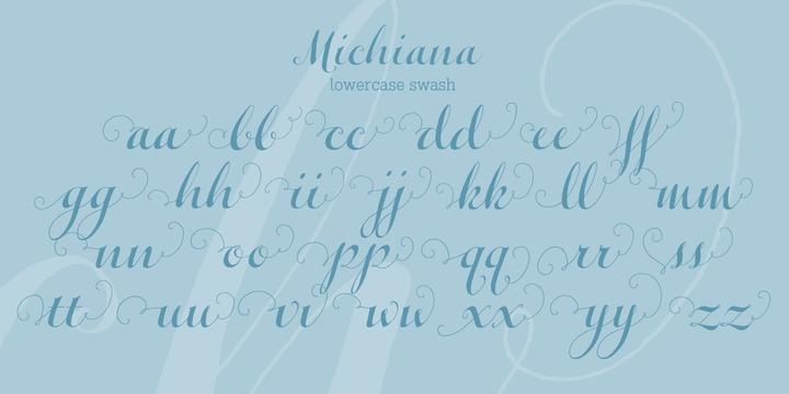 Michiana Pro Font