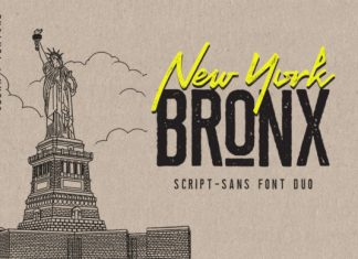 Newyork Bronx Font Family
