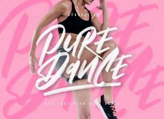 Pure Dance Font Duo