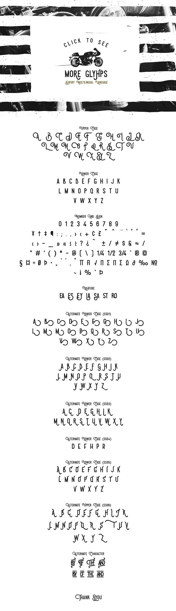 Steelworks Typeface
