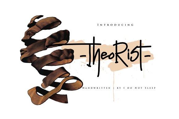 Theorist Script Font