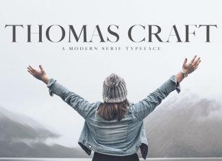 Thomas Craft Typeface