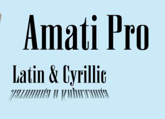 Amati Pro Font