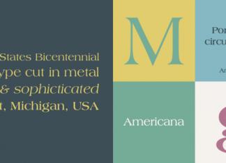 Americana Font Family