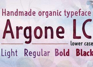 Argone LC Font
