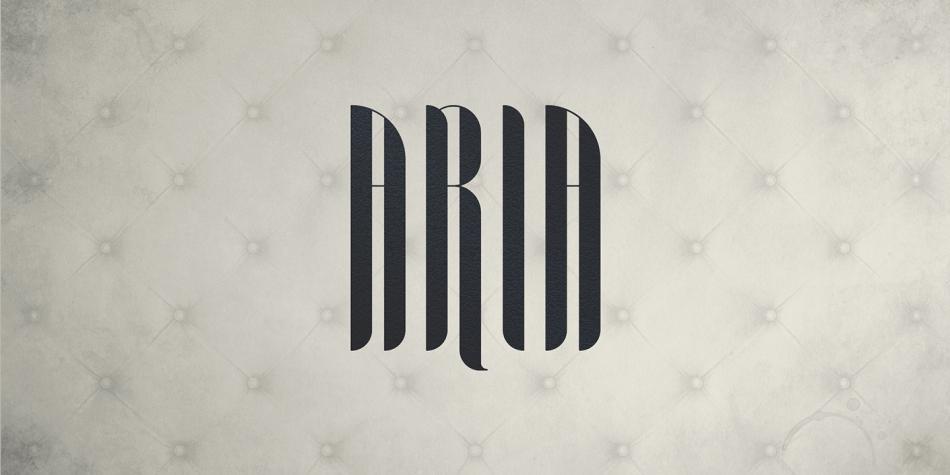 Aria Font Family