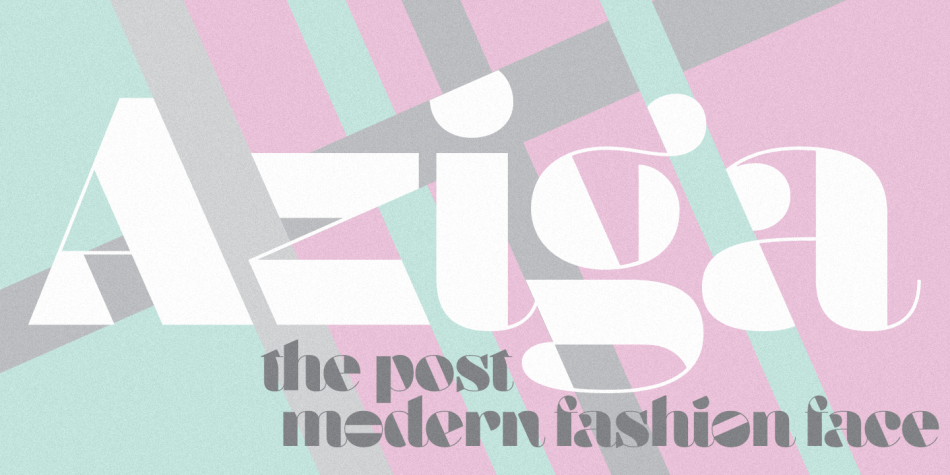 Aziga Typeface