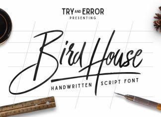 Bird House Script Font