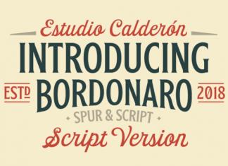 Bordonaro Script Font