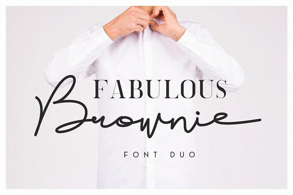 Brownie Font Family