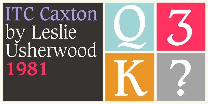 Caxton Font Family
