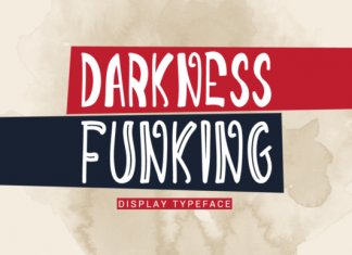 Creativefabrica - Darkness Font