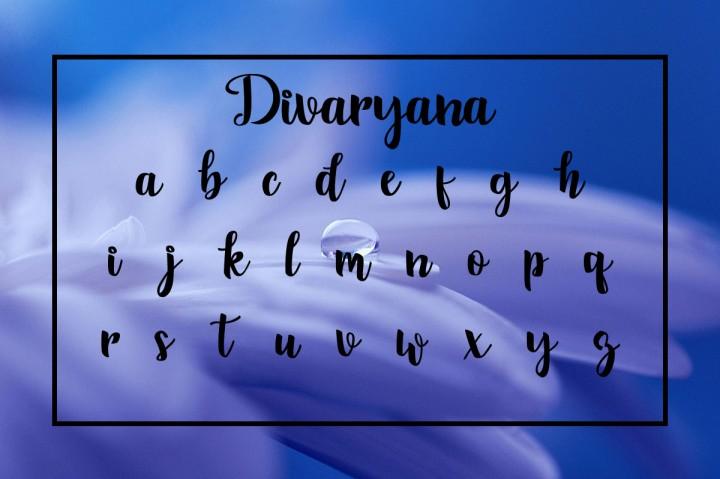 Divaryana Font