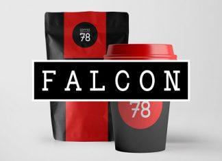 FALCON - Hybrid Slab-Serif Typeface Font