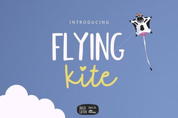 Flying Kite Font Family