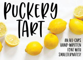 Font bundles - Puckery Tart