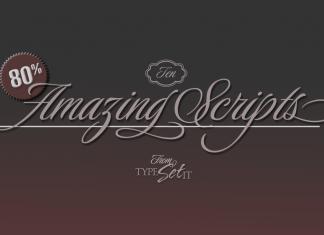 Fontbundles - 10 Amazing Scripts