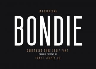 Fontbundles - Bondie, iFonts