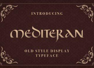Fontbundles - Mediteran